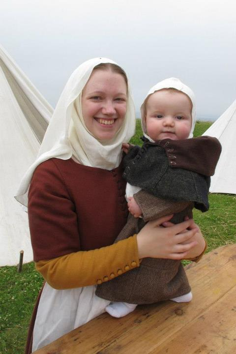 Sarah and the wee one, Varberg 2012