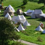 Battle of Wisby 2011 - Campsite