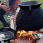 Borgeby 2011 - Cauldron on the fire