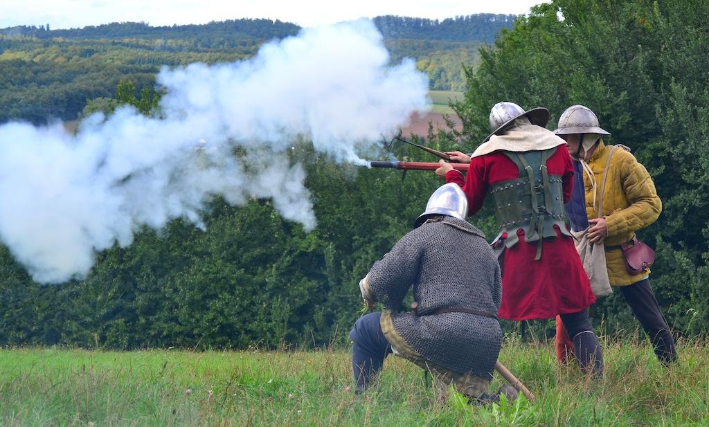 Handgunners at Ronneburg castle